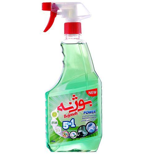 اسپری تمیزکننده سطوح حمام و شیرآلات بوژنه مقدار 750 گرم