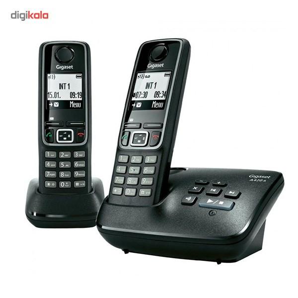 قیمت                      تلفن بی سیم گیگاست مدل A420 A Duo