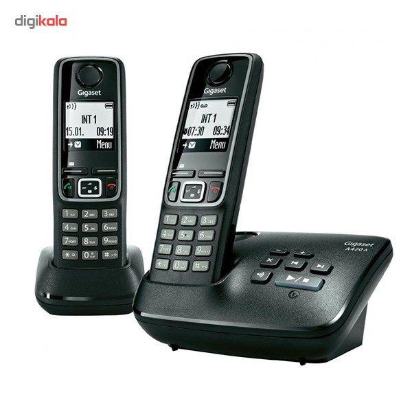 تلفن بی سیم گیگاست مدل A420 A Duo  Gigaset A420 A Duo Wireless Phone