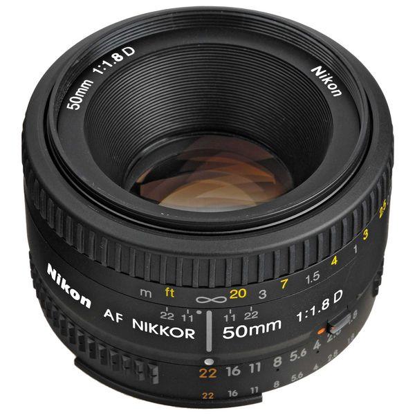لنز نیکون مدل 50mm F/1.8 AF D | Nikon 50mm F/1.8 AF D Lens