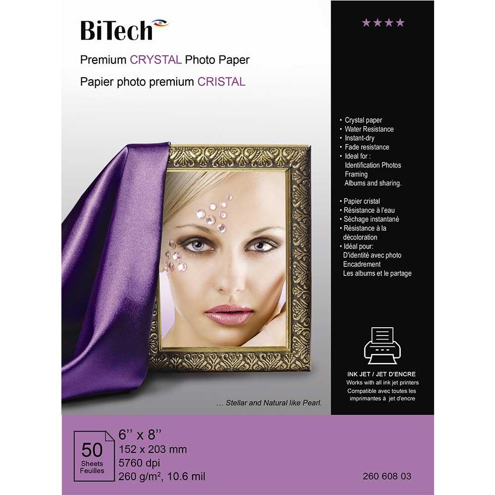 قیمت                      کاغذ چاپ عکس بای تک مدل کریستال سایز 20 × 15 بسته 50 عددی