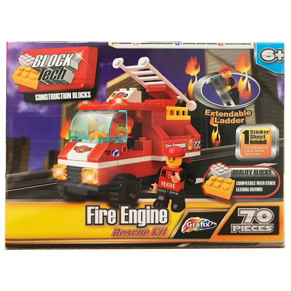 ساختنی گرافیکس مدل Fire Engine Rescue Kit