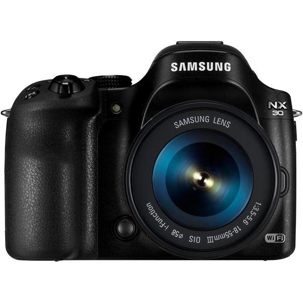 دوربین دیجیتال سامسونگ مدل NX30 به همراه لنز 18-55 میلی متر