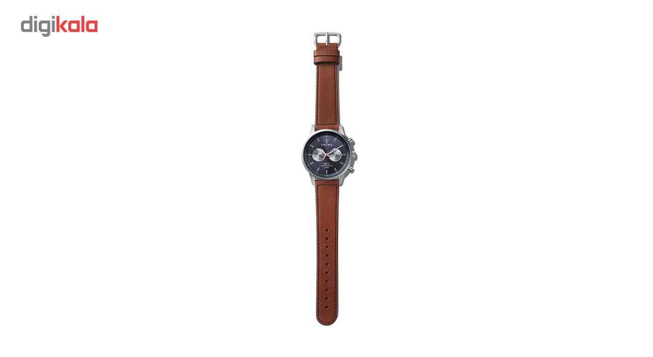 ساعت مچی عقربه ای تریوا مدل Blue Steel Nevil