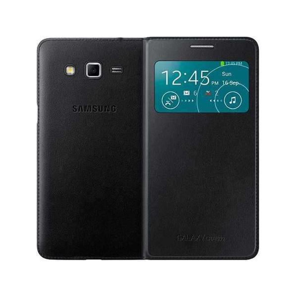 کیف کلاسوری سامسونگ مدل S View Cover مناسب برای گوشی موبایل سامسونگ Galaxy Grand 2              ( قیمت و خرید)