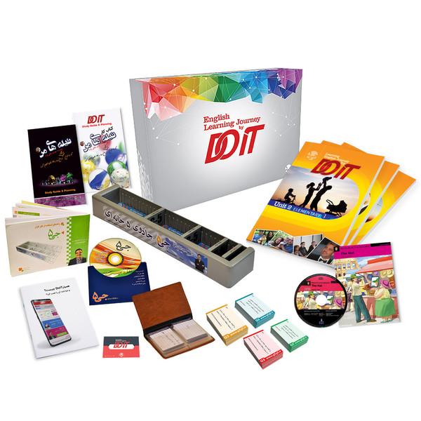 دوره اموزش زبان انگلیسی DOIT به همراه فکر افزار جی5 مدل بیسیک