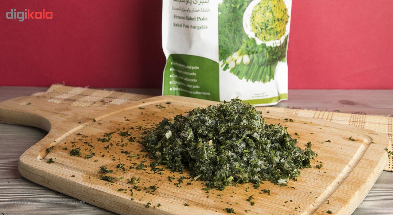 سبزی پلو منجمد نوبر سبز مقدار 400 گرم main 1 1