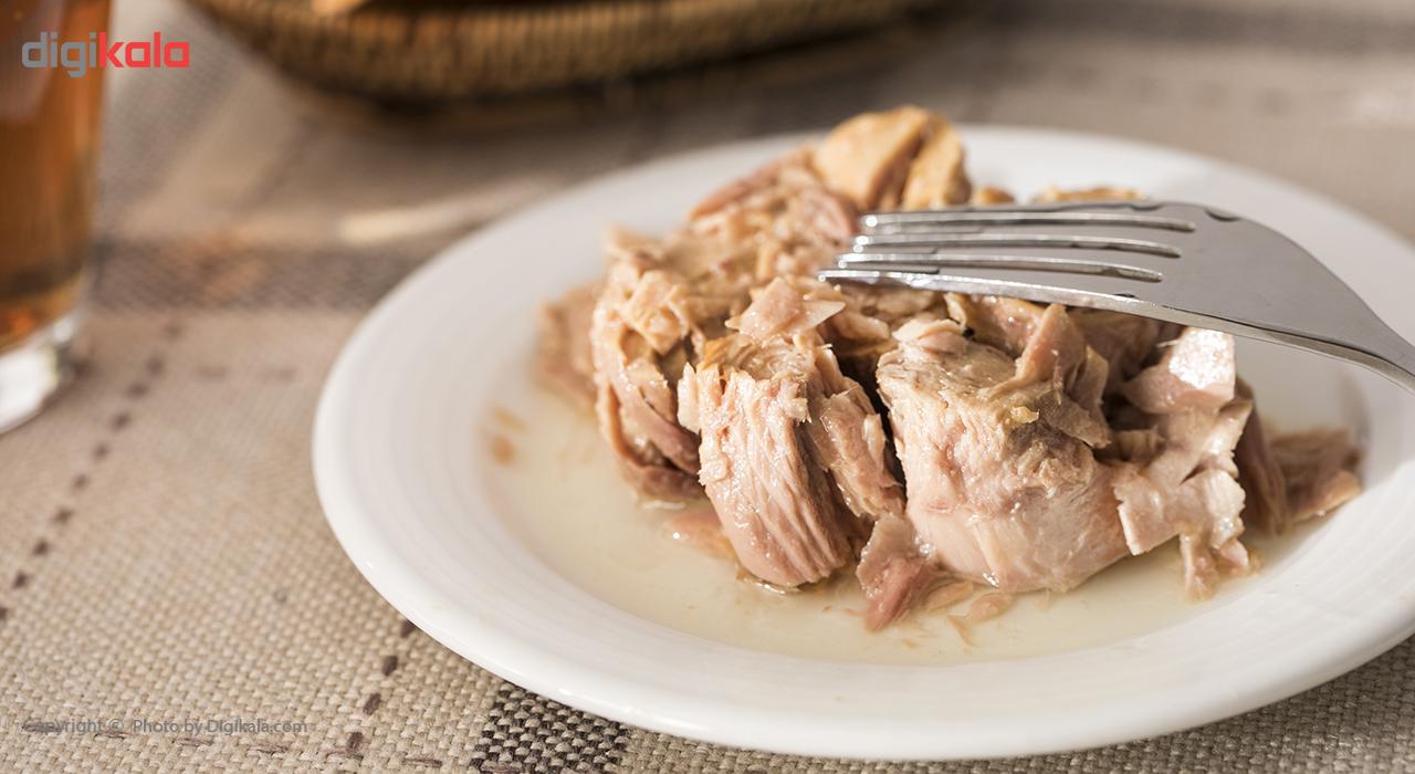 کنسرو ماهی تون در روغن تحفه مقدار 180 گرم
