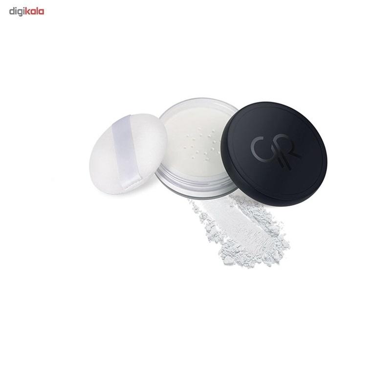 پودر تثبیت کننده آرایش گلدن رز مدل Long Wear Finishing Powder