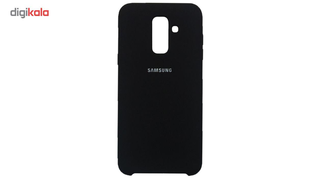 کاور سیلیکونی مدل 005 مناسب برای گوشی موبایل سامسونگ گلکسی A6 Plus 2018 main 1 1