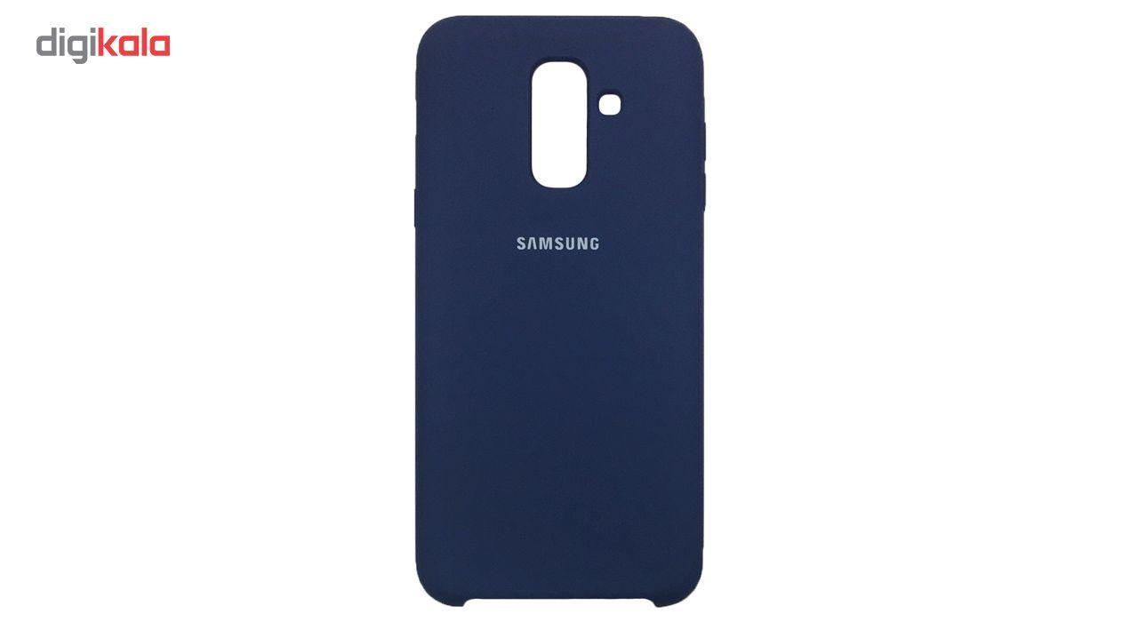 کاور سیلیکونی مدل 005 مناسب برای گوشی موبایل سامسونگ گلکسی A6 Plus 2018 main 1 2