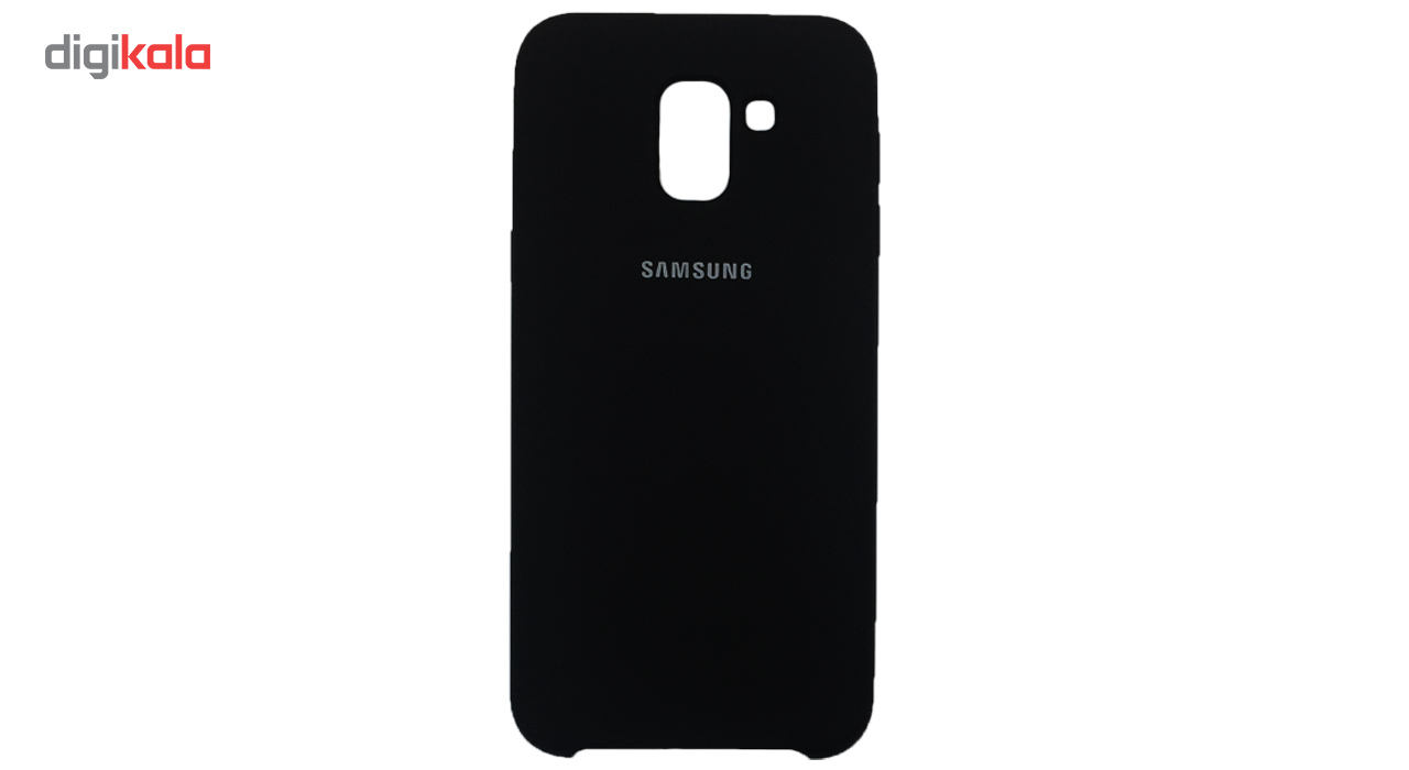 کاور سیلیکونی مدل 005 مناسب برای گوشی موبایل سامسونگ گلکسی J6 2018 main 1 1