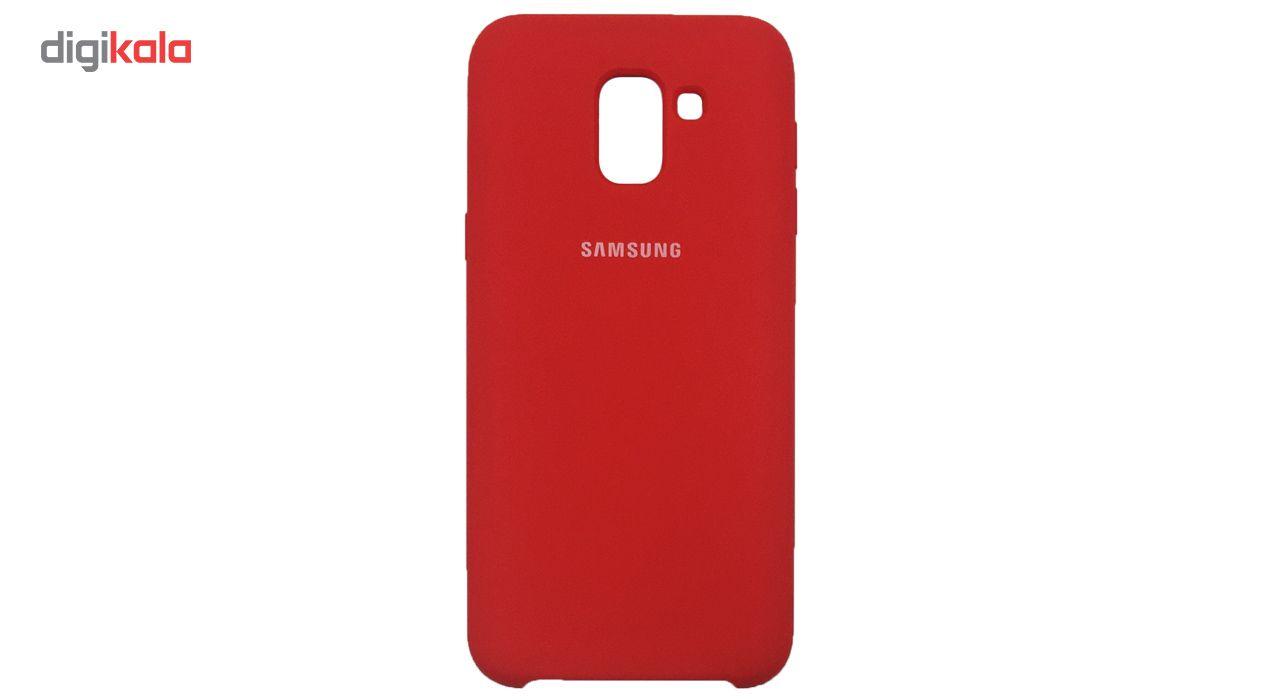 کاور سیلیکونی مدل 005 مناسب برای گوشی موبایل سامسونگ گلکسی J6 2018 main 1 3