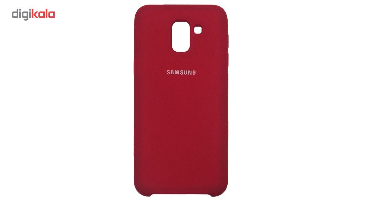 کاور سیلیکونی مدل 005 مناسب برای گوشی موبایل سامسونگ گلکسی J6 2018 main 1 5