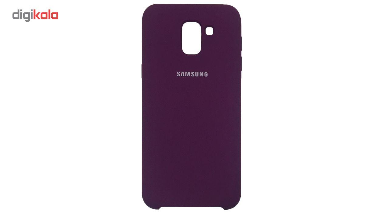 کاور سیلیکونی مدل 005 مناسب برای گوشی موبایل سامسونگ گلکسی J6 2018 main 1 6
