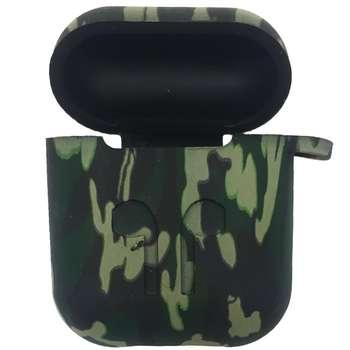 کاور محافظ سیلیکونی مدل Green Army مناسب برای کیس اپل AirPods