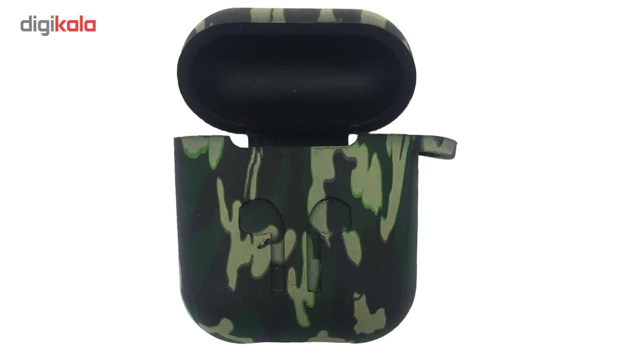 کاور محافظ سیلیکونی مدل Green Army مناسب برای کیس اپل AirPods main 1 1