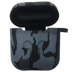 کاور محافظ سیلیکونی مدل Gray Army مناسب برای کیس اپل AirPods thumb