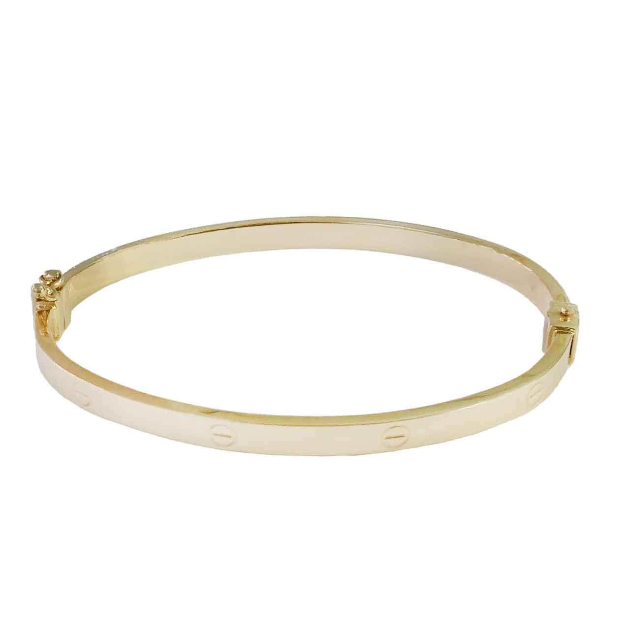 قیمت دستبند طلا 18عیار کانیار گالری مدل M8930