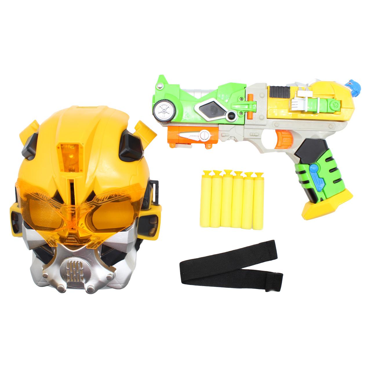 تفنگ اسباب بازی ربات پاور مدل M-002