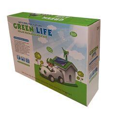 کیت آموزشی ربات  خورشیدی مدل زندگی سبز