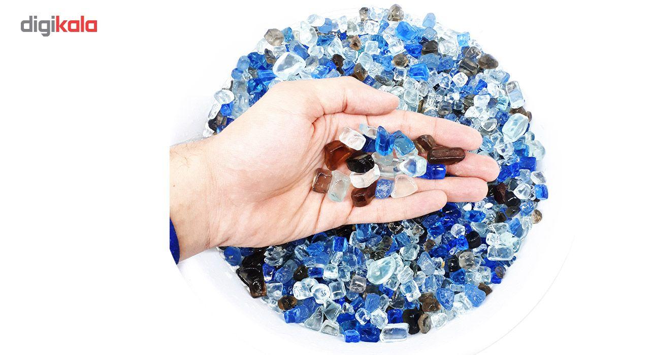 سنگ رنگی گلدان مدل broken glass مجموعه 3 بسته ای main 1 1