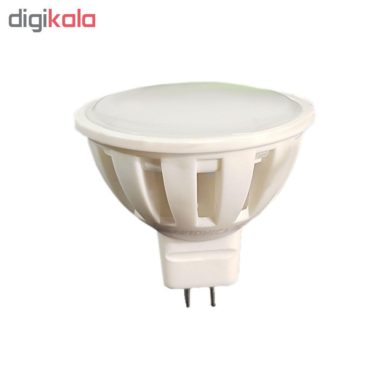 لامپ ال ای دی 5 وات ZZ کد هالوژن پایه GU5.3  main 1 1
