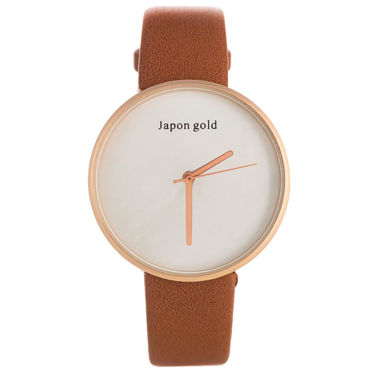 ساعت مچی عقربه ای ژاپن گلد مدل BL09
