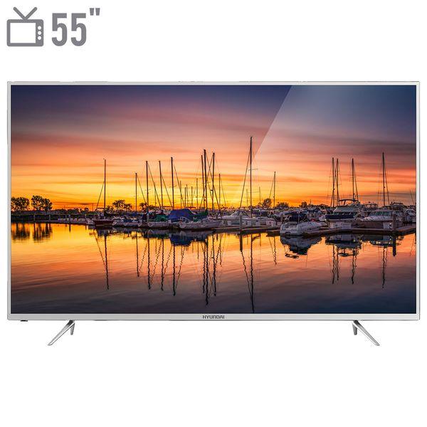 تلویزیون ال ای دی هوشمند هیوندای مدل 55SR8690 سایز 55 اینچ