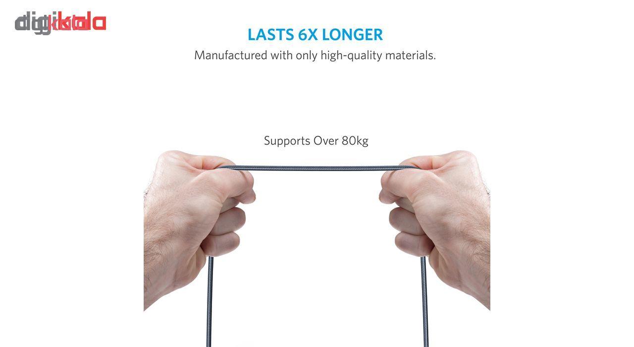 کابل تبدیل USB به لایتنینگ انکر مدل A8122 PowerLine Plus طول 1.8 متر main 1 5