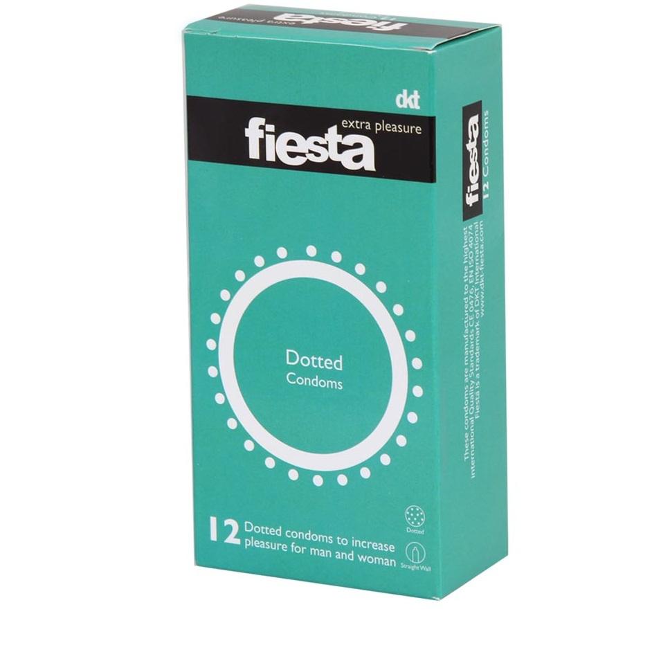 قیمت کاندوم خاردار فیستا مدل Dotted بسته 12 عددی