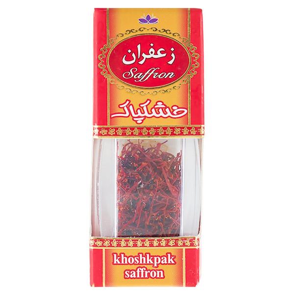 زعفران خشکپاک مقدار 0.5 گرم