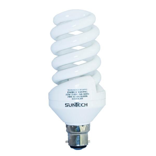 لامپ کم مصرف 28 وات سانتک مدل 925071 پایه B22