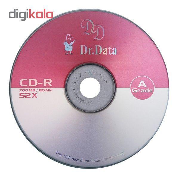 سی دی خام دکتر دیتا مدل CD-R پک 50 عددی main 1 1