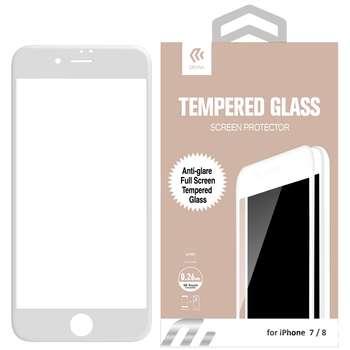محافظ صفحه نمایش مات تمام چسب شیشه ای دیویا مدل Anti-Glare مناسب برای گوشی اپل آیفون 8 / 7 همراه با محافظ پشت