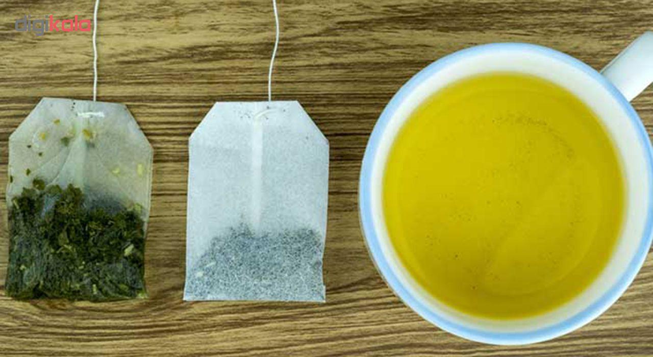 دمنوش گیاهی چای سبز و سفید مهرگیاه بسته 14 عددی main 1 1