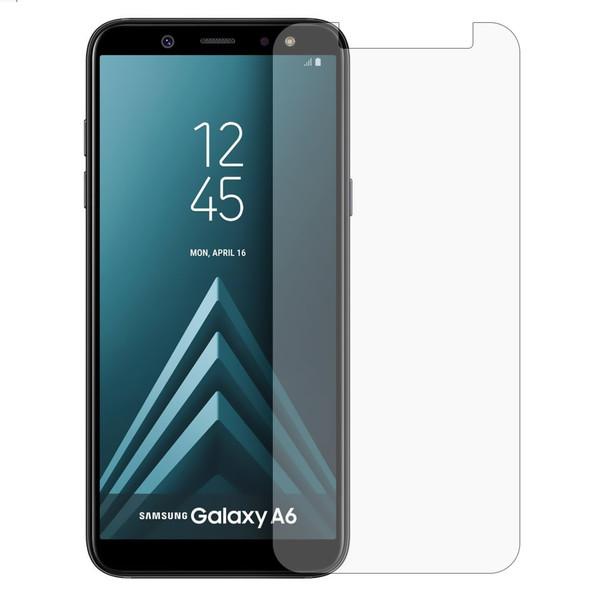 محافظ صفحه نمایش شیشه ای مدل Tempered مناسب برای گوشی موبایل سامسونگ Galaxy A6 2018