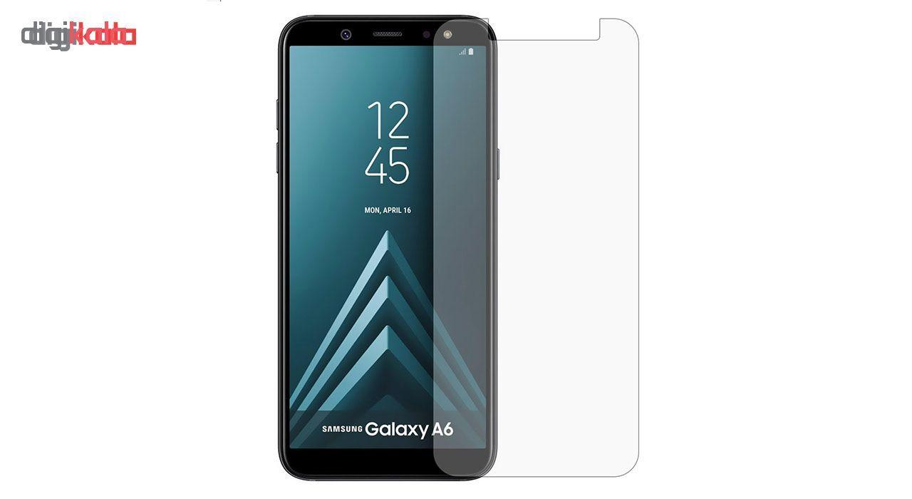 محافظ صفحه نمایش شیشه ای مدل Tempered مناسب برای گوشی موبایل سامسونگ Galaxy A6 2018 main 1 1