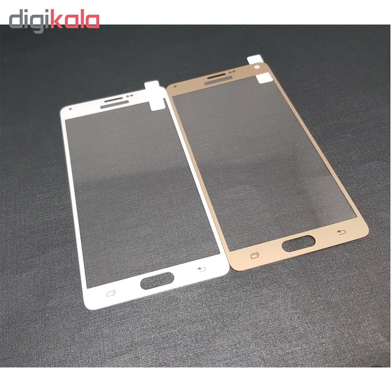 محافظ صفحه نمایش شیشه ای مدل Hard and thick فول کاور مناسب برای گوشی موبایل سامسونگ Galaxy note 4 main 1 2