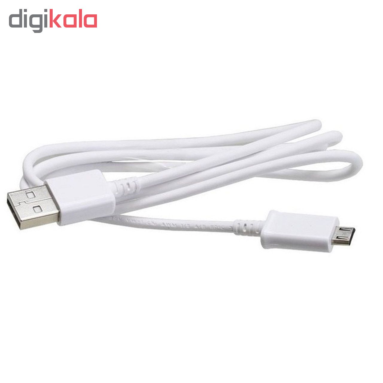 کابل تبدیل USB به microUSB مدل ECB-DUAE طول 0.8 متر