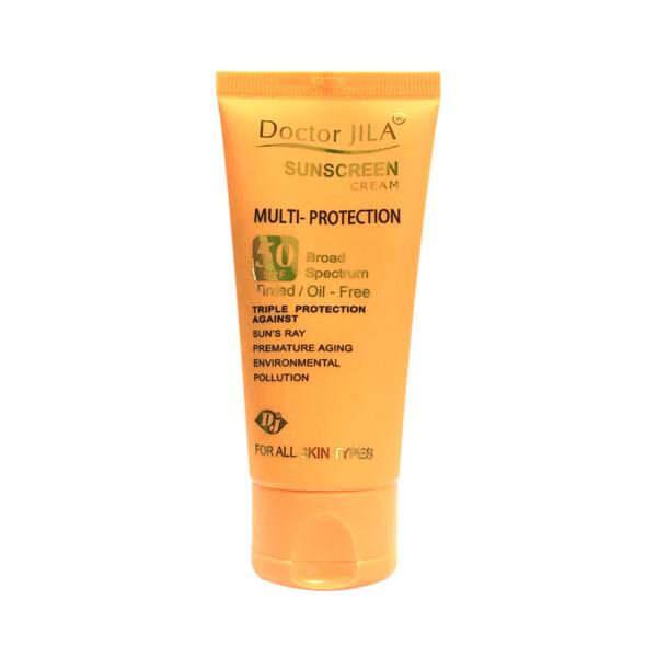 کرم ضد آفتاب دکتر ژیلا مدل multi-protection حجم 50 گرم