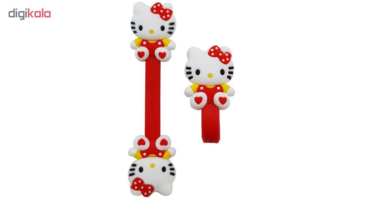 بست کابل شارژ مدل Hello Kitty بسته دو عددی main 1 1