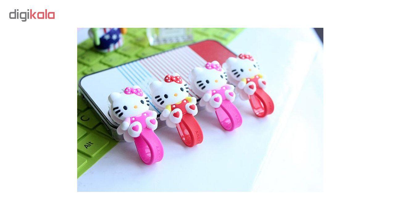 بست کابل شارژ مدل Hello Kitty بسته دو عددی main 1 5