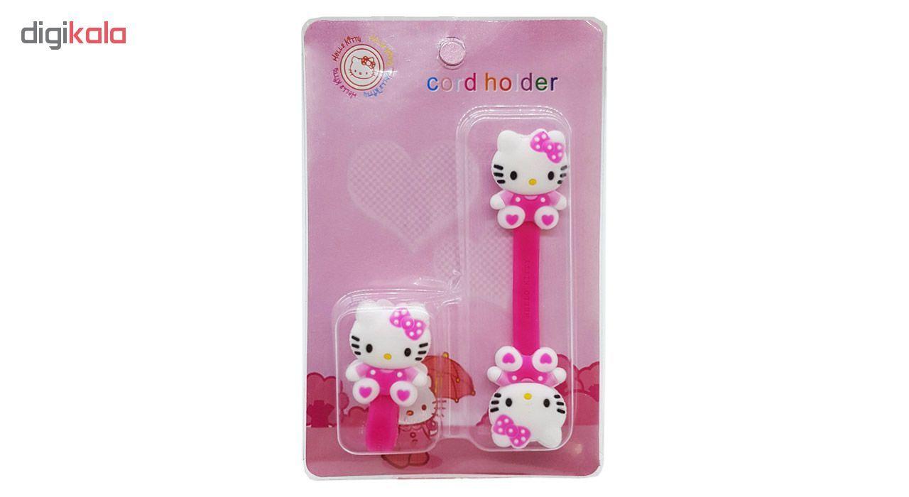 بست کابل شارژ مدل Hello Kitty بسته دو عددی main 1 7