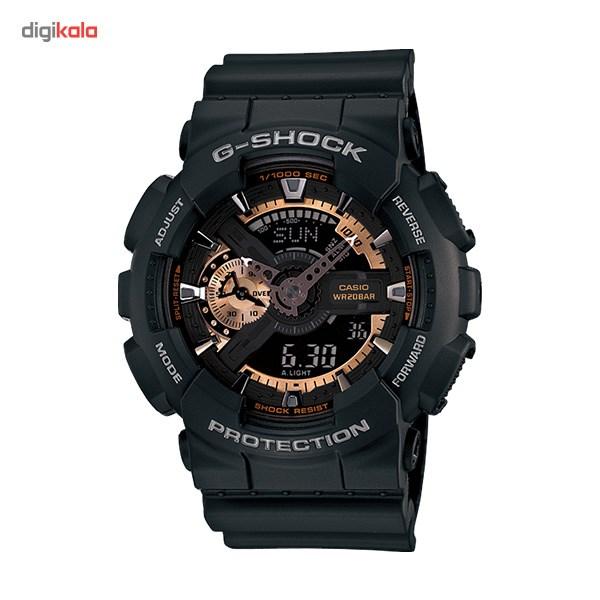 خرید ساعت مچی عقربه ای مردانه کاسیو جی شاک GA-110RG-1ADR | ساعت مچی