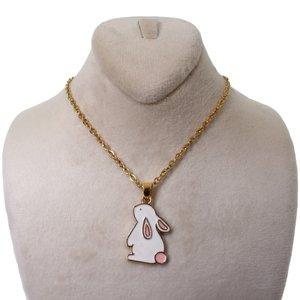 گردنبند دخترانه طرح خرگوش کد 149
