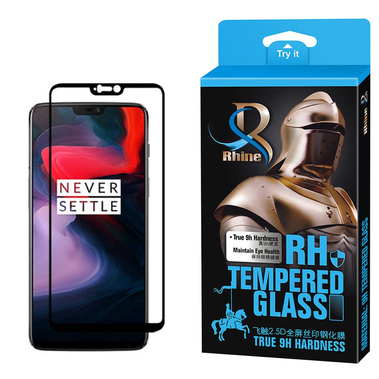 خرید                     محافظ صفحه نمایش راین مدل R_9 مناسب برای گوشی موبایل وان پلاس 6