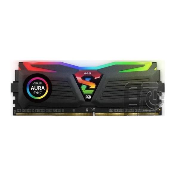 رم دسکتاپ DDR4 تک کاناله 3200 مگاهرتز CL18 گیل مدل SUPER LUCE RGB SYNC ظرفیت 32 گیگابایت