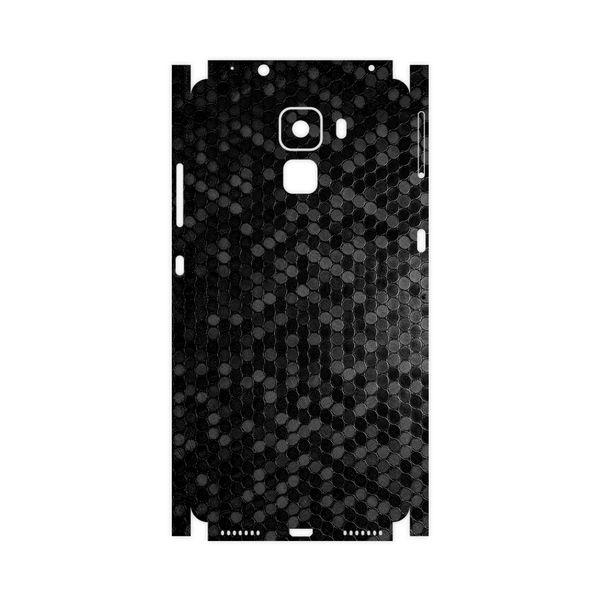 برچسب پوششی ماهوت مدل Honey-Comb-Circle-FullSkin مناسب برای گوشی موبایل آنر 7