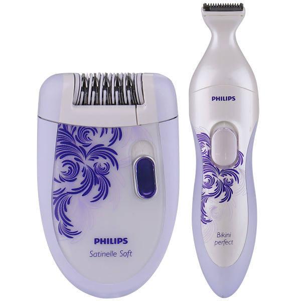 اپیلاتور و ماشین اصلاح موی بدن بانوان فیلیپس مدل 6530/30
